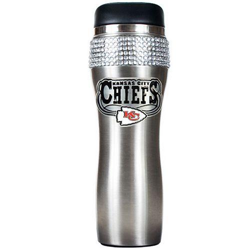 Kansas City Chiefs Stainless Steel Tumbler