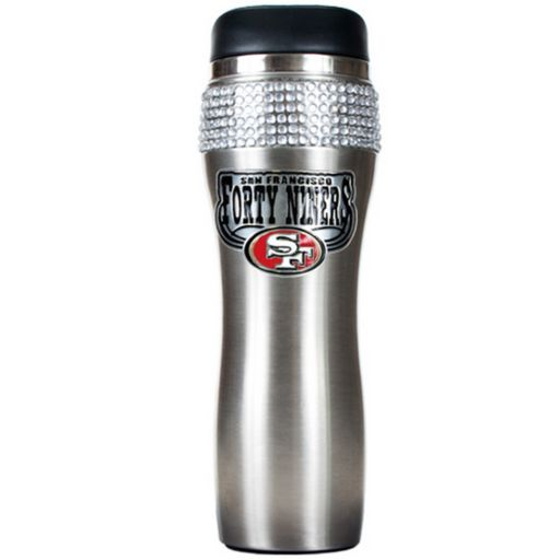 San Francisco 49ers Stainless Steel Tumbler