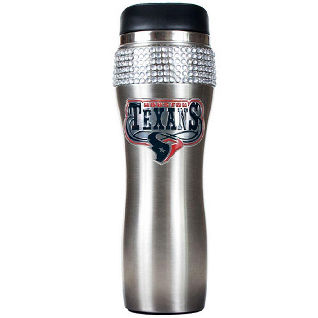 Houston Texans Stainless Steel Tumbler