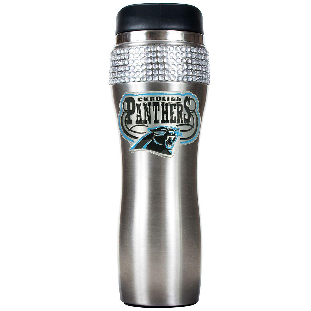 Carolina Panthers Stainless Steel Tumbler