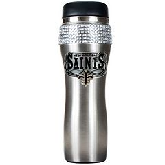 New Orleans Saints Stainless Steel Tumbler