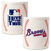 Atlanta Braves 2-pc. Baseball Can Holder Set