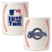 Milwaukee Brewers 2-pc. Baseball Can Holder Set