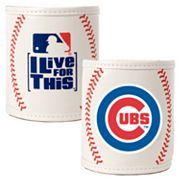 Chicago Cubs 2-pc. Baseball Can Holder Set