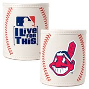 Cleveland Indians 2-pc. Baseball Can Holder Set