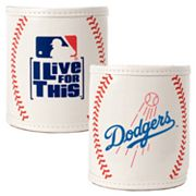 Los Angeles Dodgers 2-pc. Baseball Can Holder Set