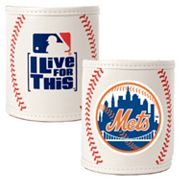 New York Mets 2-pc. Baseball Can Holder Set