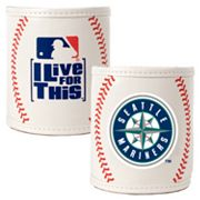 Seattle Mariners 2-pc. Baseball Can Holder Set