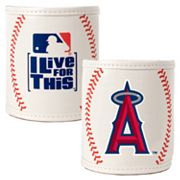 Los Angeles Angels  2-pc. Baseball Can Holder Set