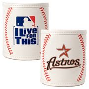 Houston Astros 2-pc. Baseball Can Holder Set