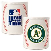 Oakland A's  2-pc. Baseball Can Holder Set