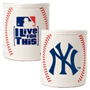 New York Yankees 2-pc. Baseball Can Holder Set