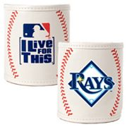Tampa Bay Rays 2-pc. Baseball Can Holder Set