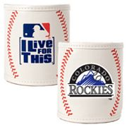 Colorado Rockies 2-pc. Baseball Can Holder Set