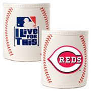 Cincinnati Reds 2-pc. Baseball Can Holder Set