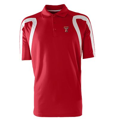 Texas Tech Red Raiders Point Desert Dry Xtra-Lite Pique Polo - Men