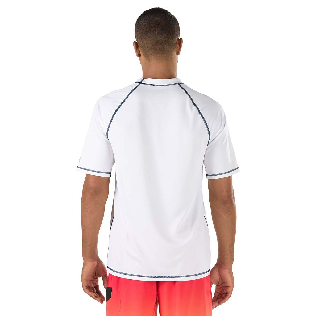 Men's Speedo Solid Swim Tee