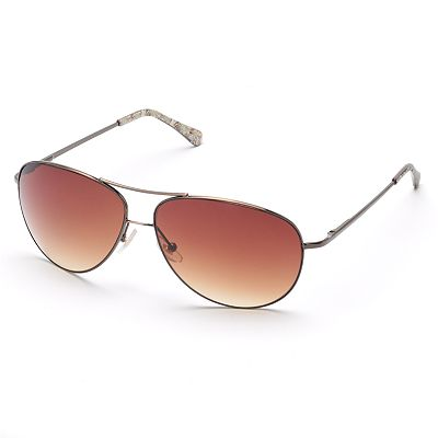 SONOMA life and style Aviator Sunglasses