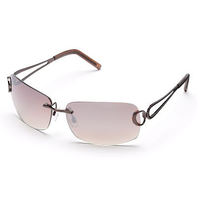 SONOMA life and style Rimless Rectangular Sunglasses
