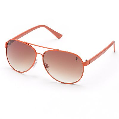 Jennifer Lopez Bond Gradient Aviator Sunglasses