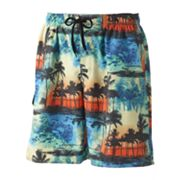 Newport Blue Fire and Ice Swim Trunks