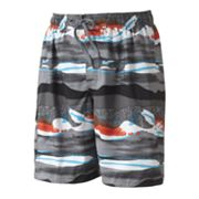 Newport Blue Rapa Nui Volley Shorts