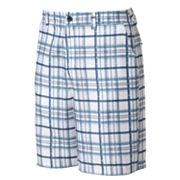 Newport Blue Surf Trails Plaid Hybrid Shorts