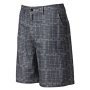 Newport Blue Grid Fretwork Hybrid Shorts