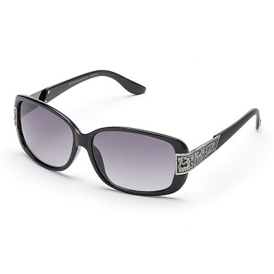 SONOMA life and style Floral Rectangular Sunglasses