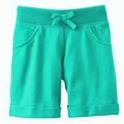 Jumping Beans Solid Knit Bermuda Shorts - Toddler