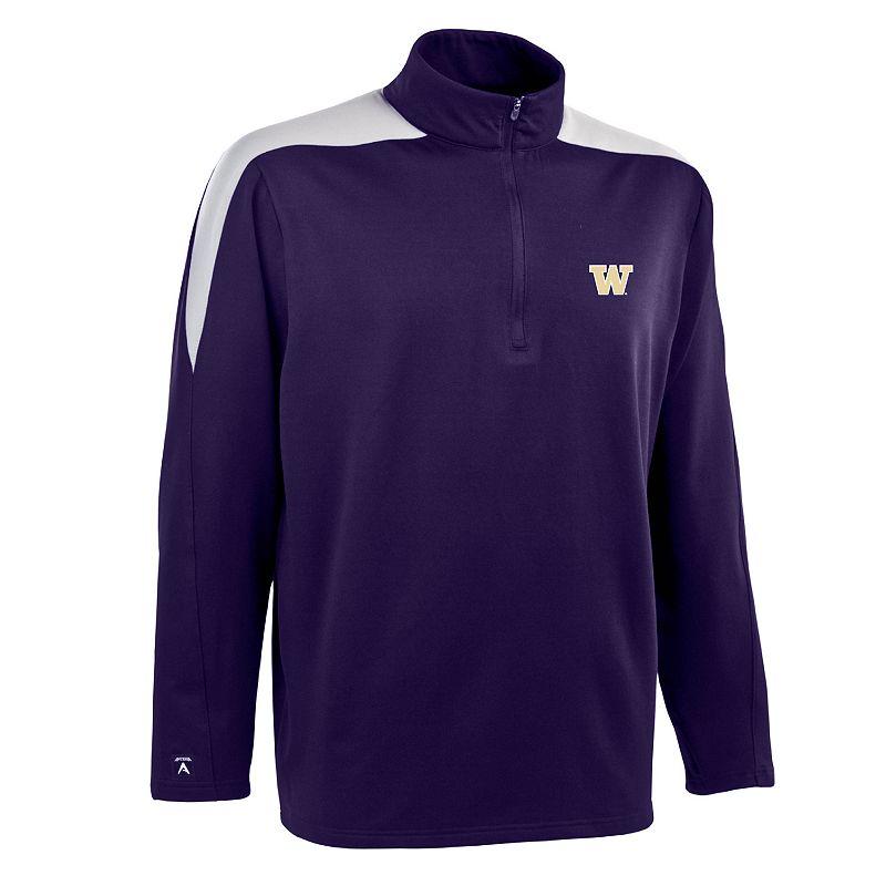Washington Huskies Succeed 1/2-Zip Jersey Fleece - Men