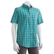 Chaps Salt Marsh Plaid Casual Button-Down Shirt