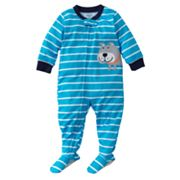 Carter's Bulldog Striped Footed Pajamas - Toddler