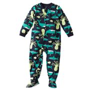 Carter's Sea Life Footed Pajamas - Toddler