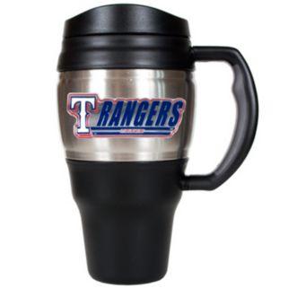 Texas Rangers 20-Ounce Travel Mug
