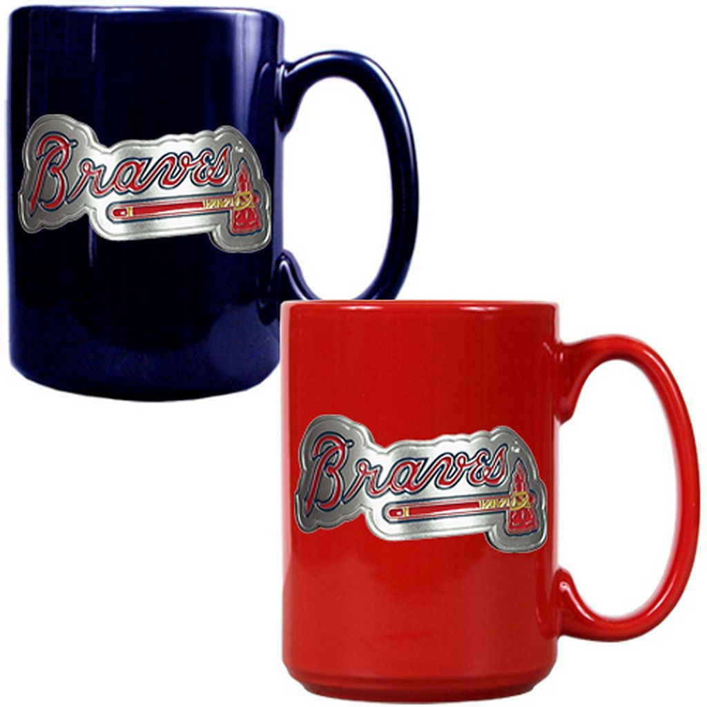 Atlanta Braves 2-pc. Ceramic Mug Set