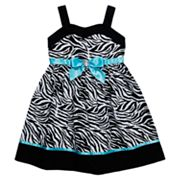 Youngland Zebra Sundress - Girls 4-6x