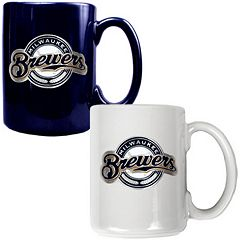 Milwaukee Brewers 2-pc. Ceramic Mug Set