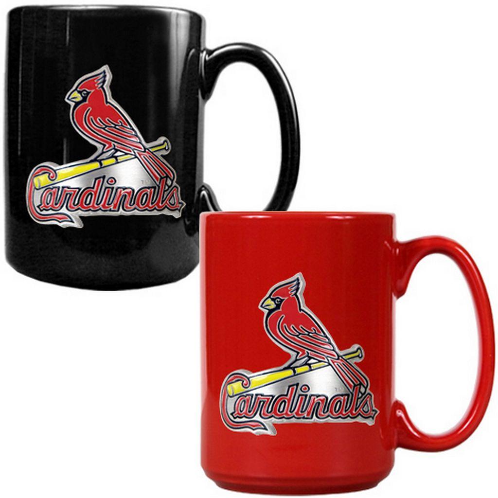 St. Louis Cardinals 2-pc. Ceramic Mug Set