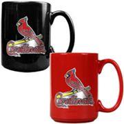 St. Louis Cardinals 2 pc Ceramic Mug Set