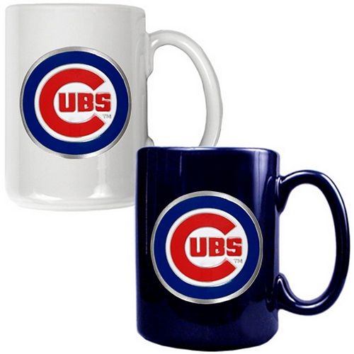 Chicago Cubs 2-pc. Ceramic Mug Set