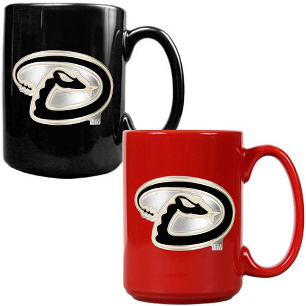 Arizona Diamondbacks 2-pc. Ceramic Mug Set