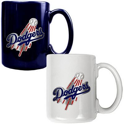 Los Angeles Dodgers 2-pc. Ceramic Mug Set