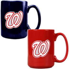Washington Nationals 2-pc. Ceramic Mug Set