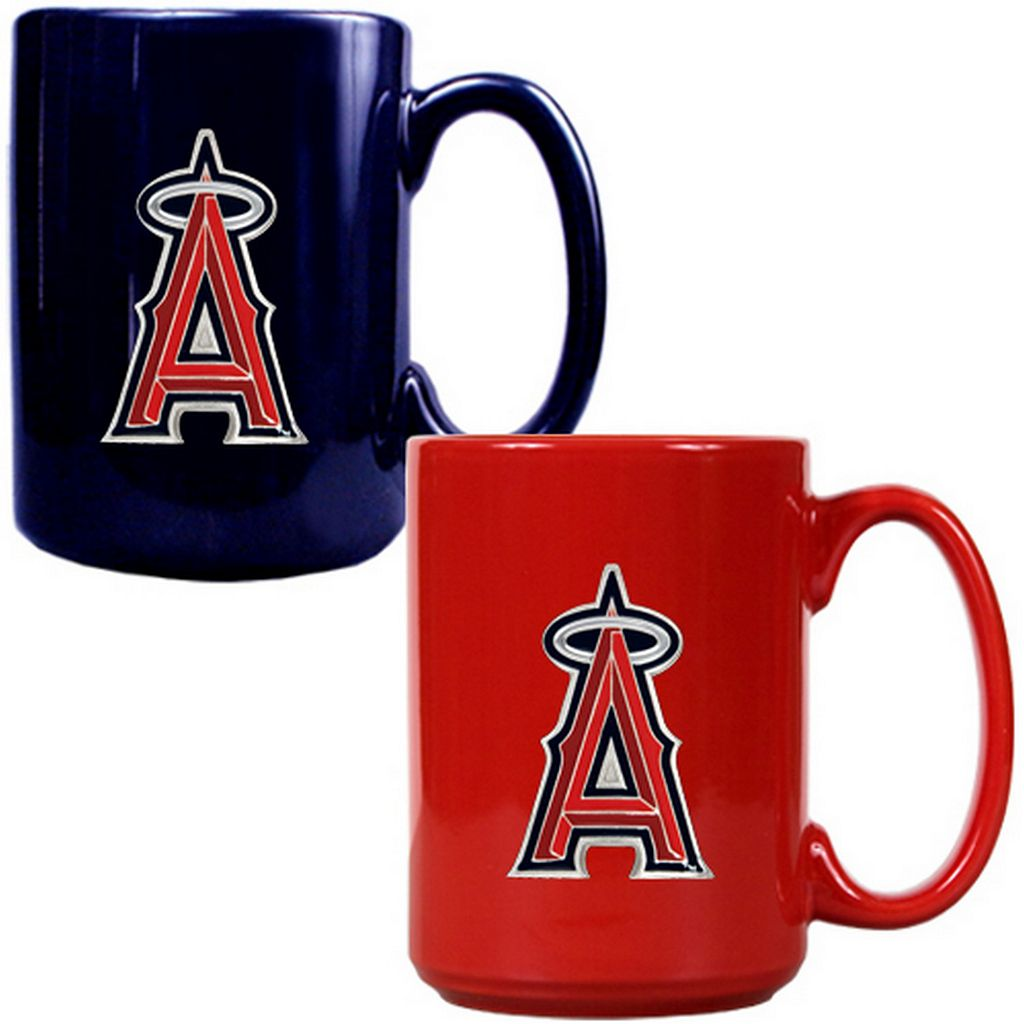 Los Angeles Angels 2-pc. Ceramic Mug Set