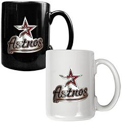 Houston Astros 2-pc. Ceramic Mug Set