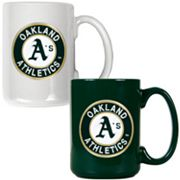 Oakland A's  2-pc. Ceramic Mug Set