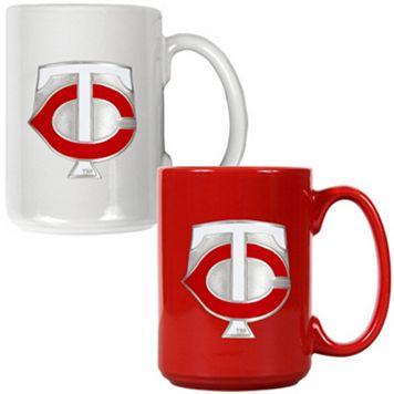 Minnesota Twins 2-pc. Ceramic Mug Set