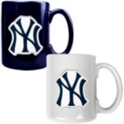 New York Yankees 2-pc. Ceramic Mug Set