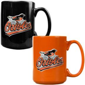 Baltimore Orioles 2-pc. Ceramic Mug Set